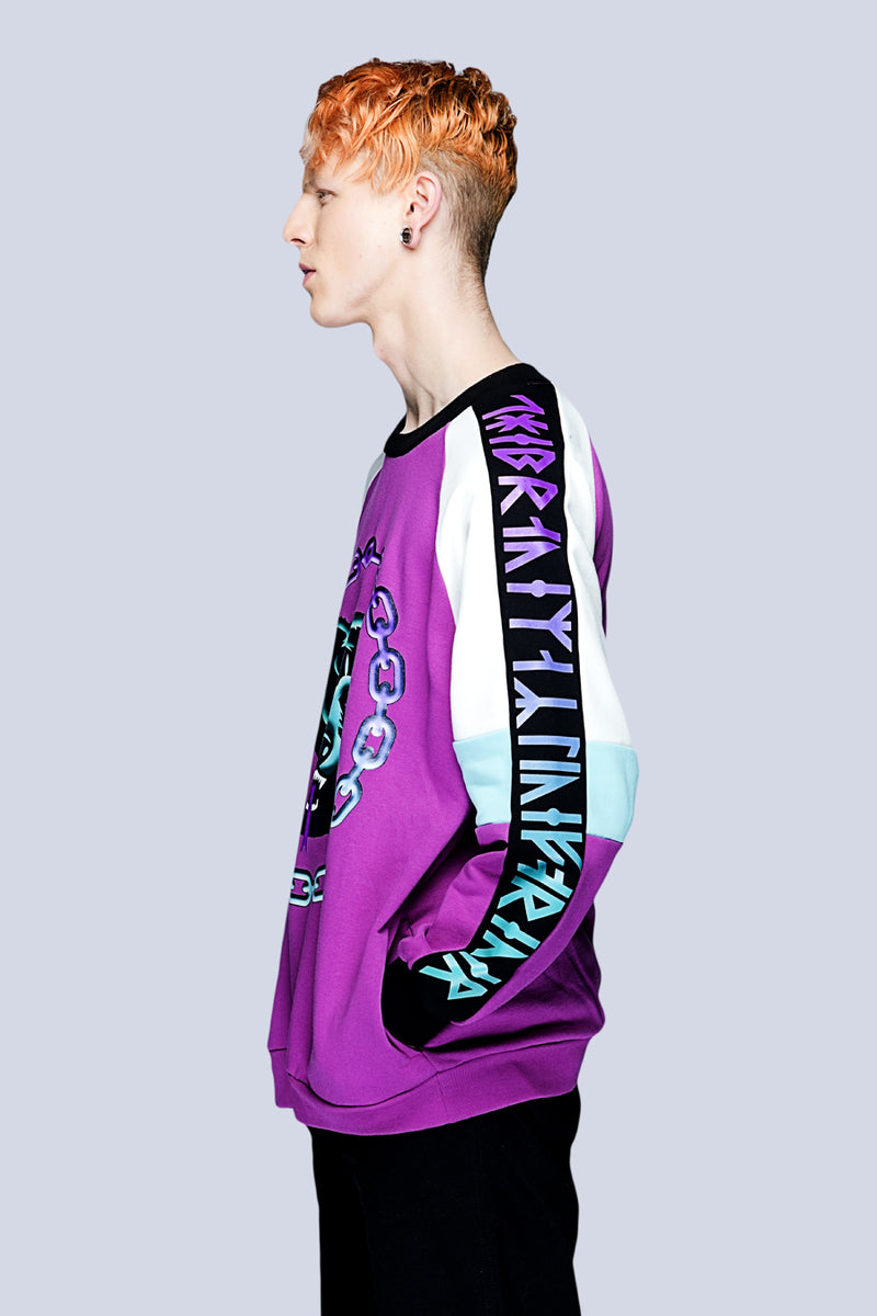 Mishka 2.0 Death Adder Chain Sweat-3397