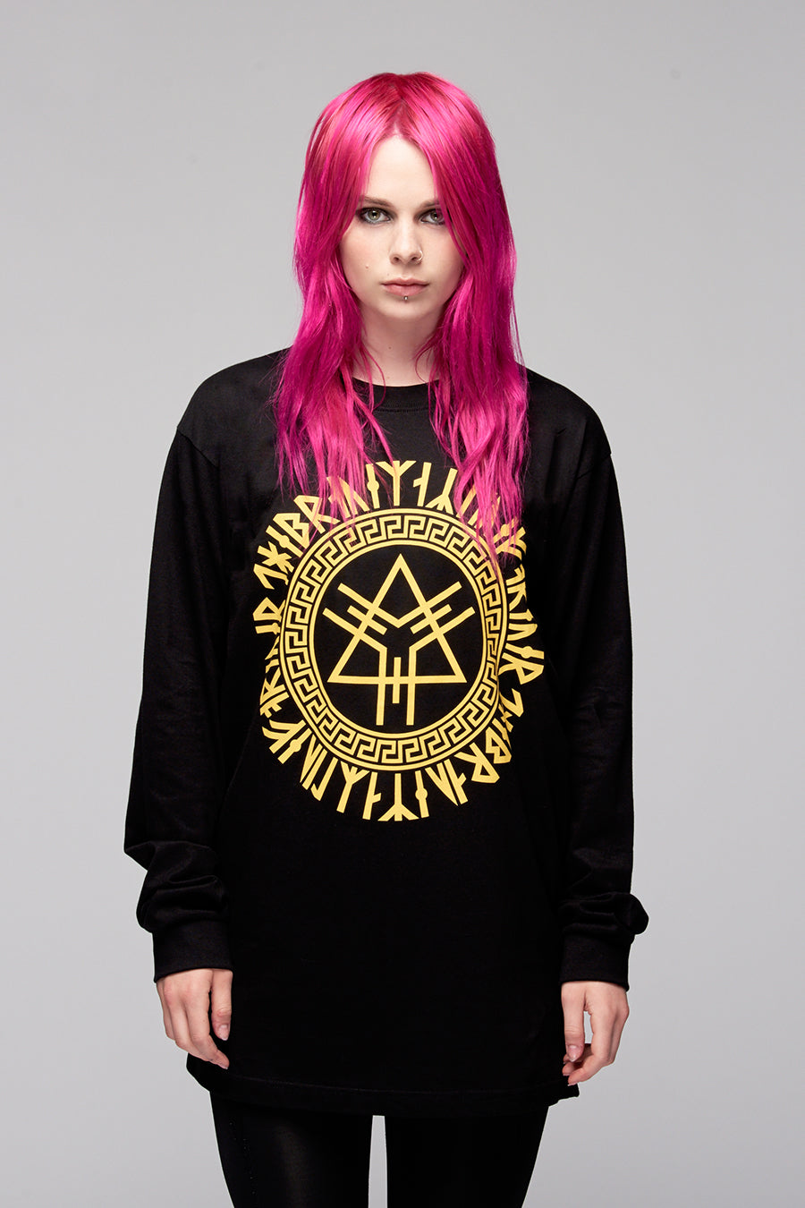 Portal Long Sleeve (Yellow)-0
