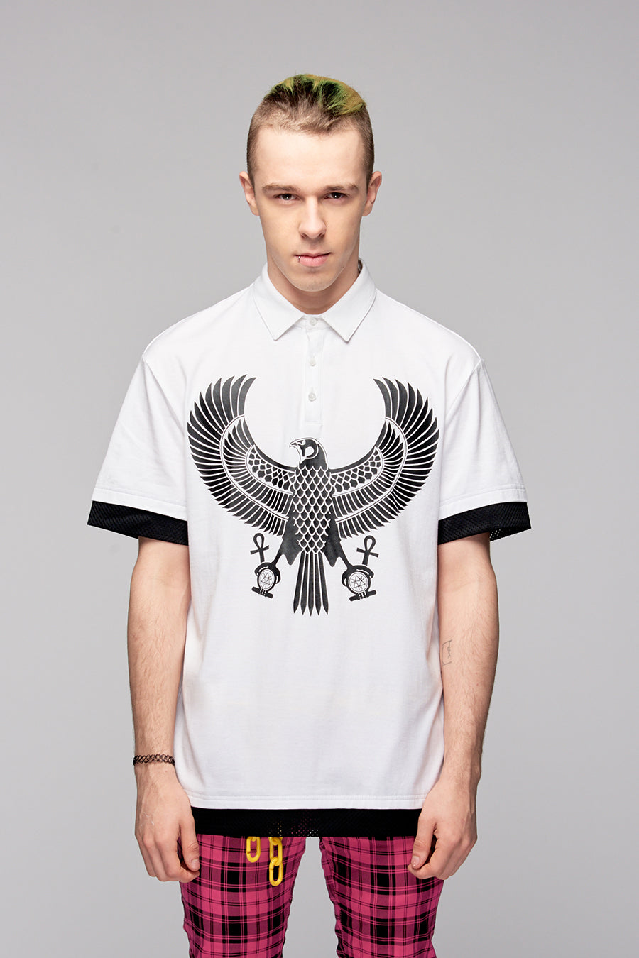 Eagle Polo White-4059