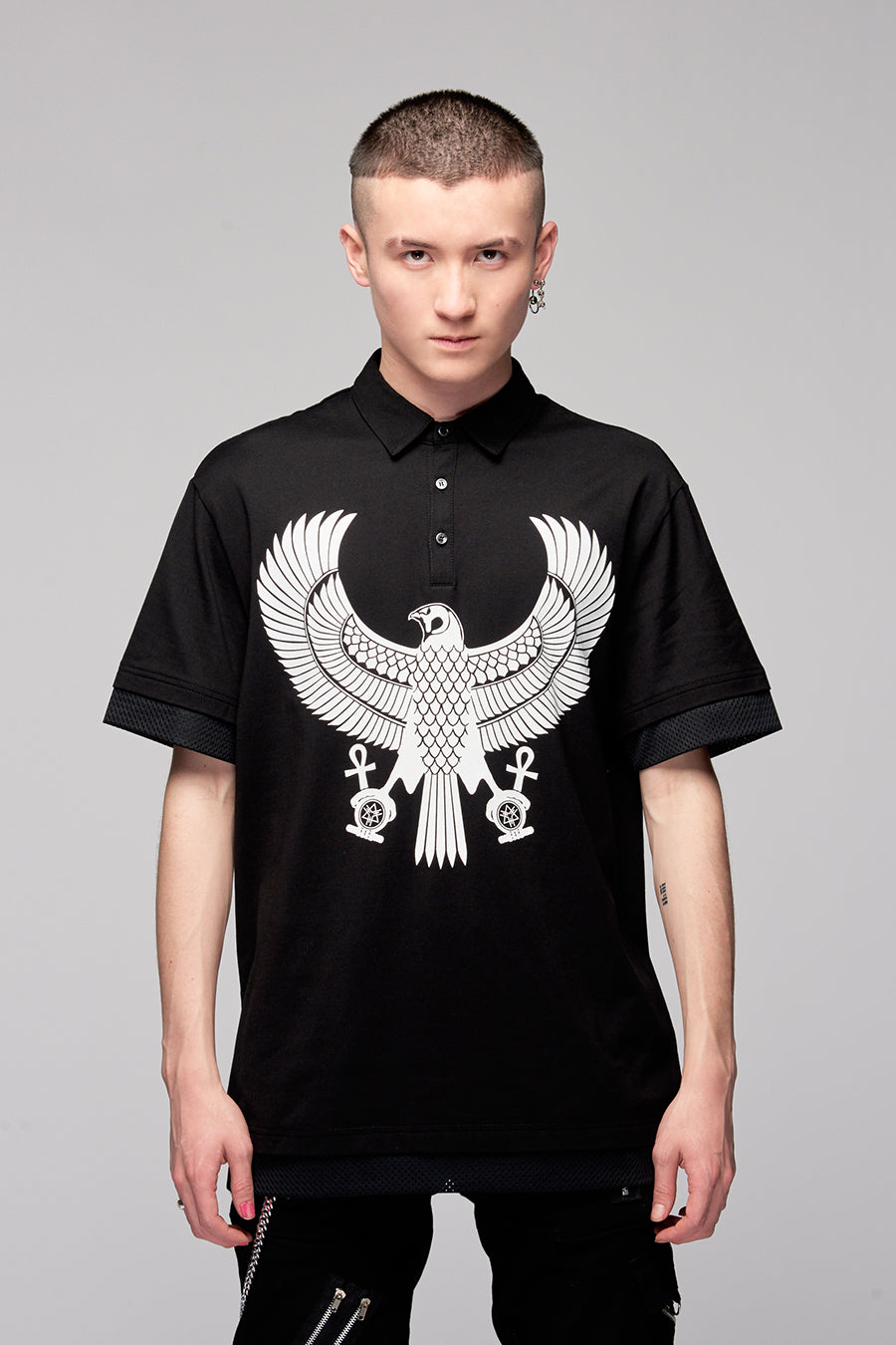 Eagle Polo Black-0