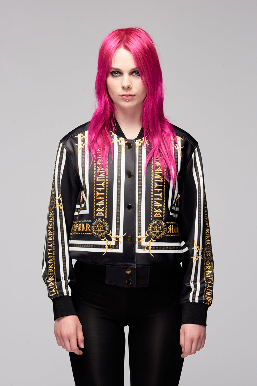 Stay Gold Crop Jacket-0