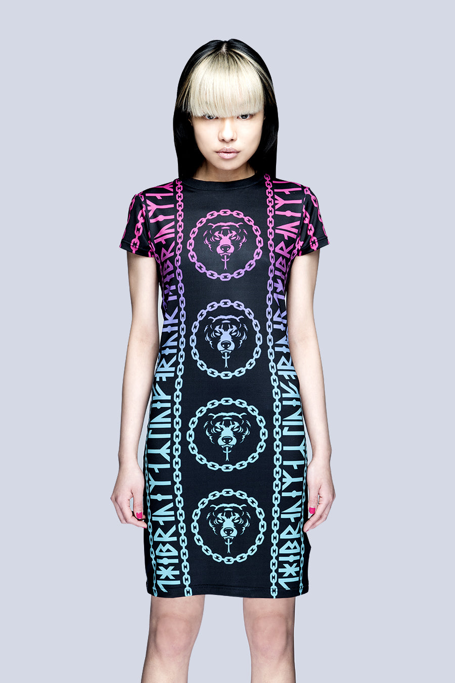 Mishka 2.0 Death Adder Chain Dress-0