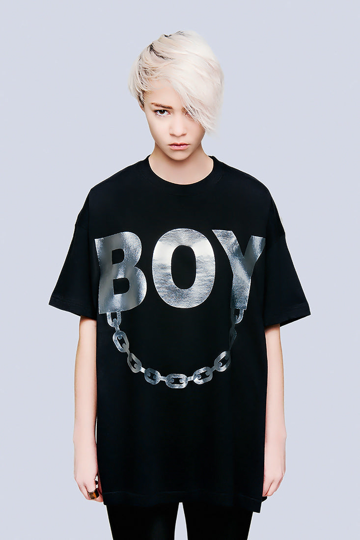 Oversize - BOY Chain (Silver)-1824