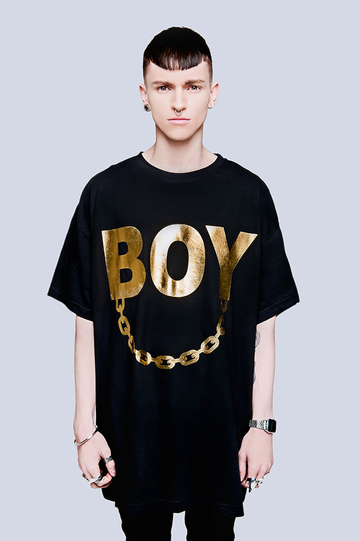 Oversize - BOY Chain (Gold)-1828