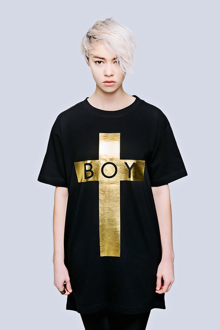 BOY Cross (Gold) -1830