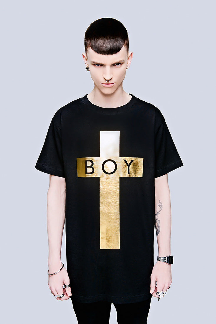BOY Cross (Gold) -0