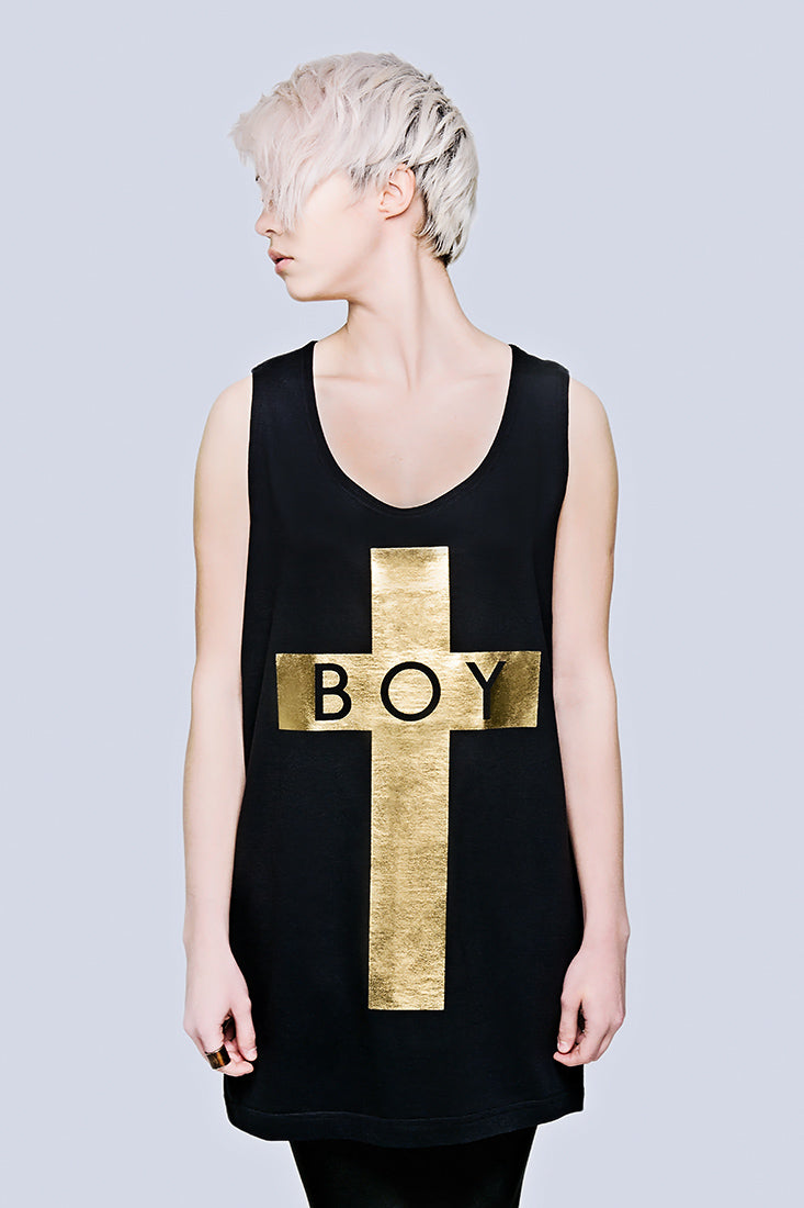 BOY Cross Vest (Gold) -1820