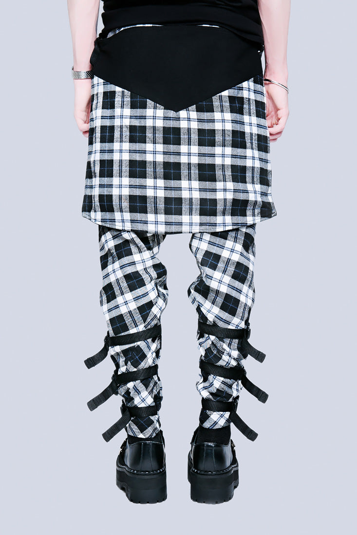 Long X Orphanage Clip Pants (Tartan)-1881