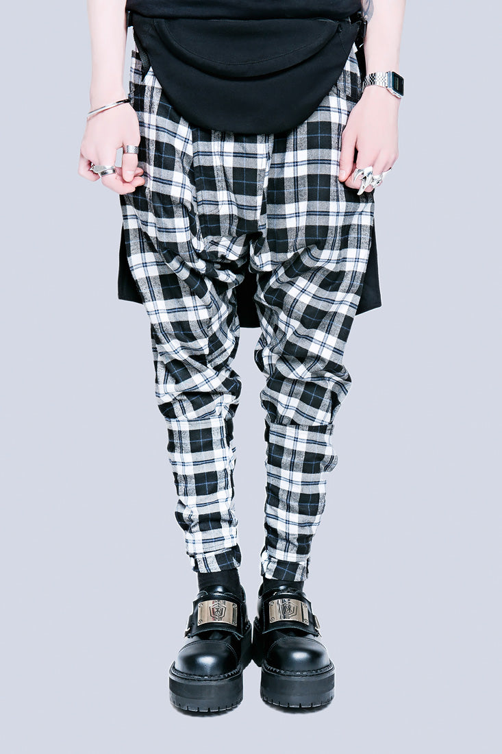 Long X Orphanage Clip Pants (Tartan)-0