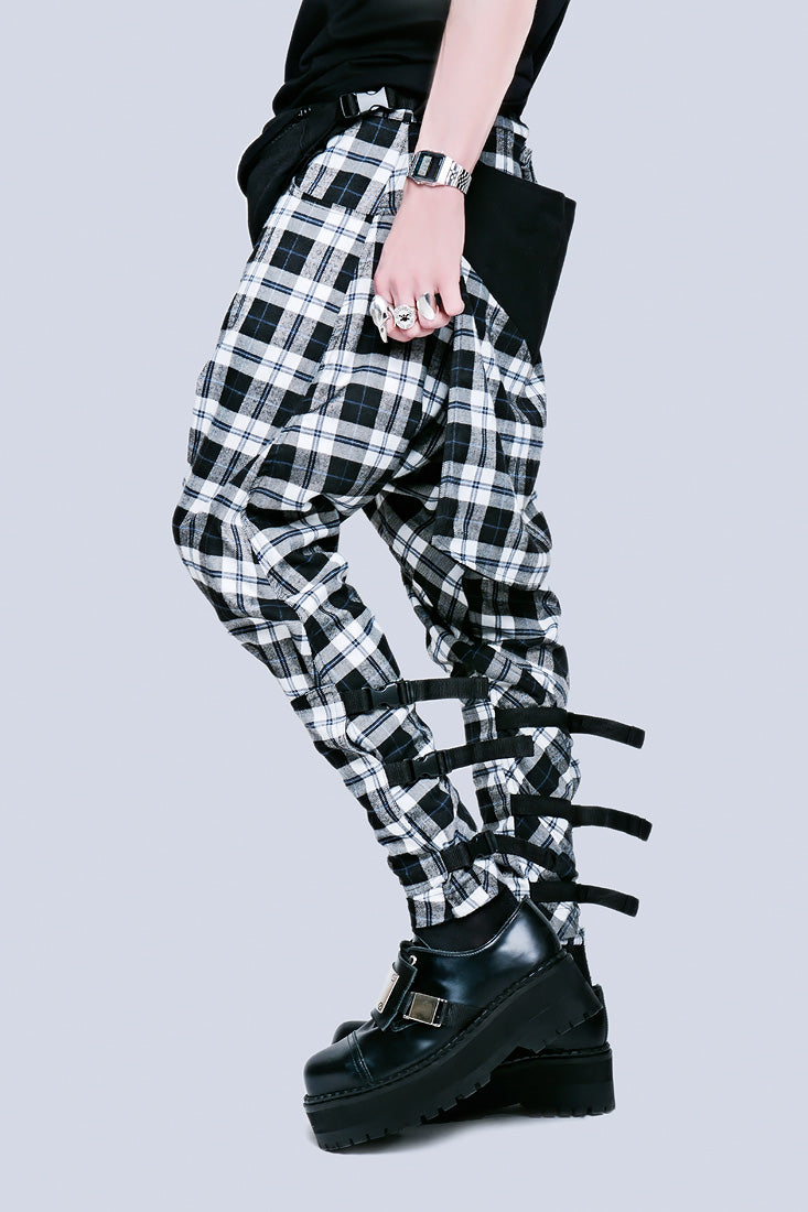 Long X Orphanage Clip Pants (Tartan)-1879