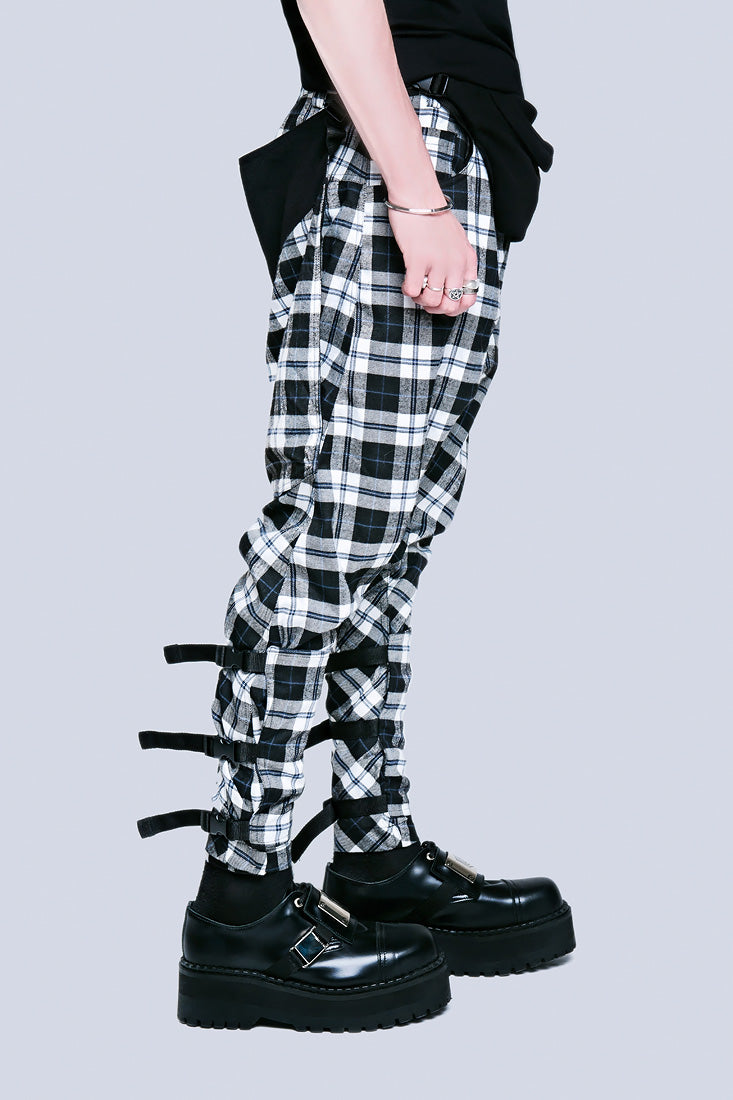 Long X Orphanage Clip Pants (Tartan)-1880