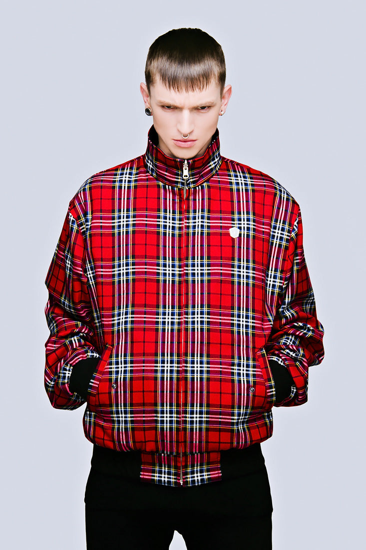 Reversible Harrington Jacket -0
