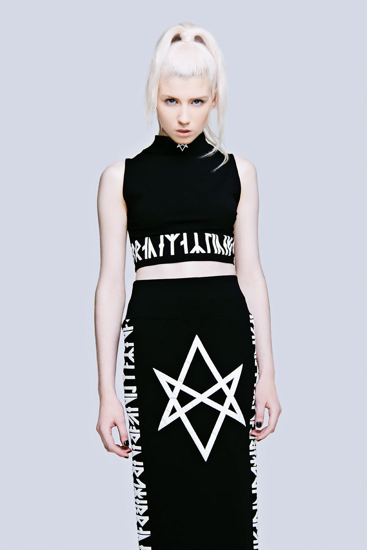 Hexagram Skirt (B)-1954