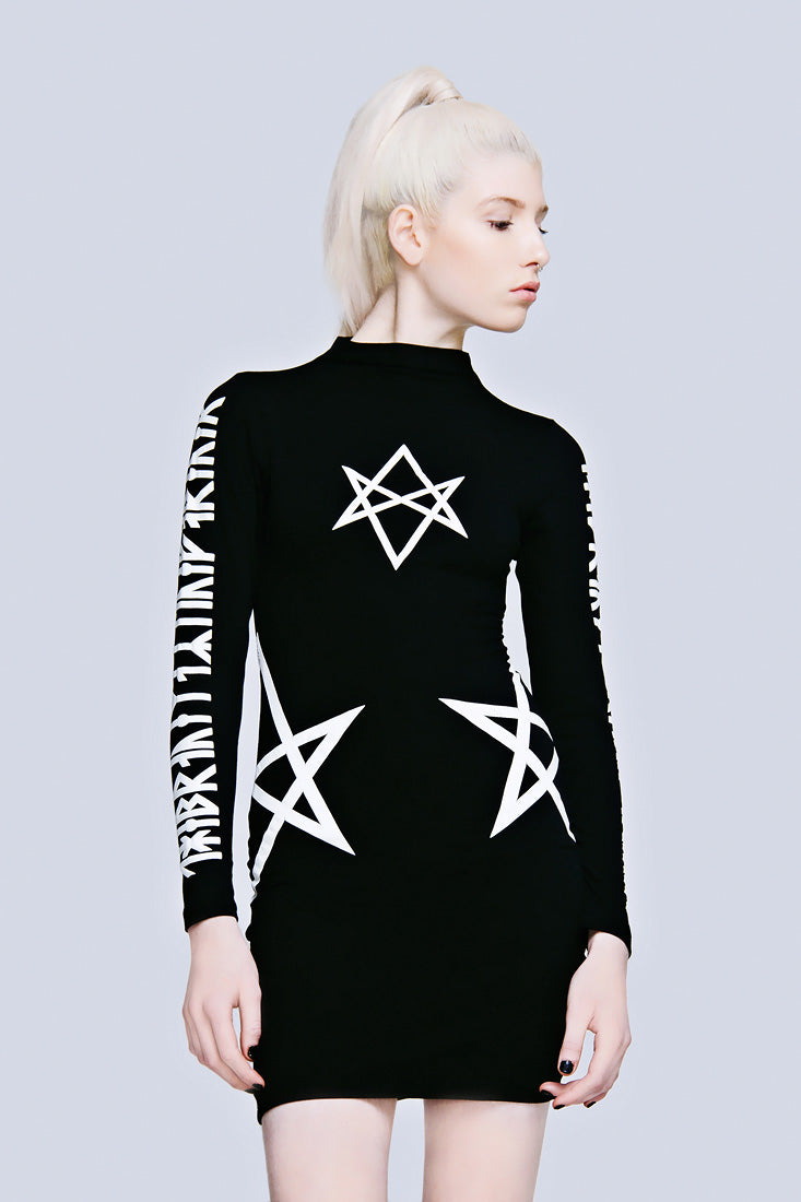 Hexagram Dress (B)-0