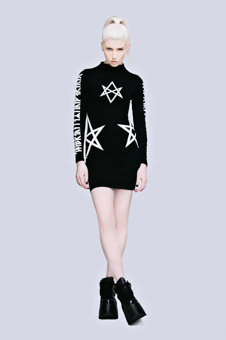 Hexagram Dress (B)-1950