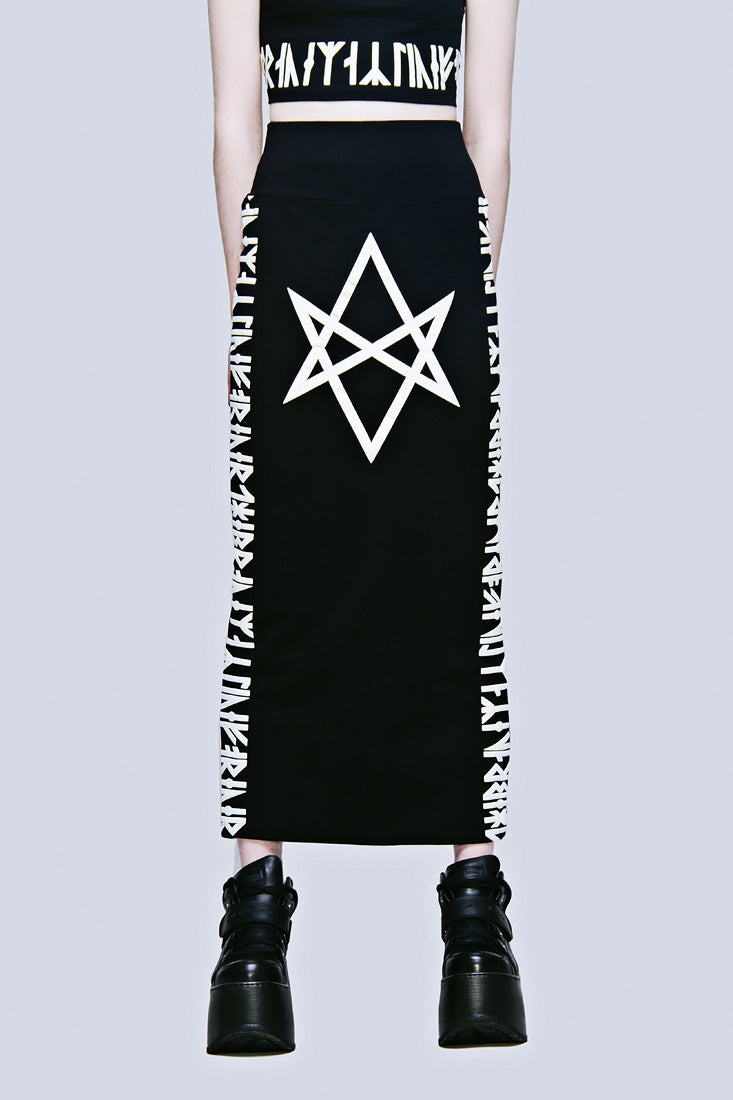 Hexagram Skirt (B)-0