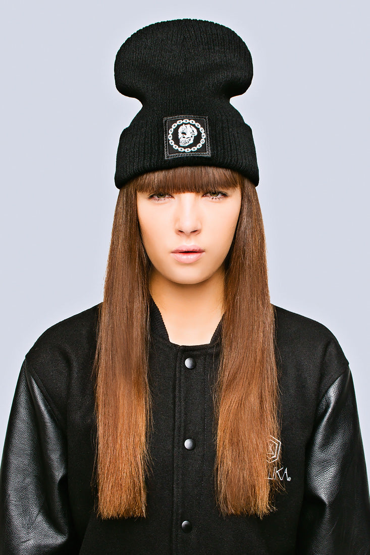 Mishka Chain Beanie - Small Patch-2026
