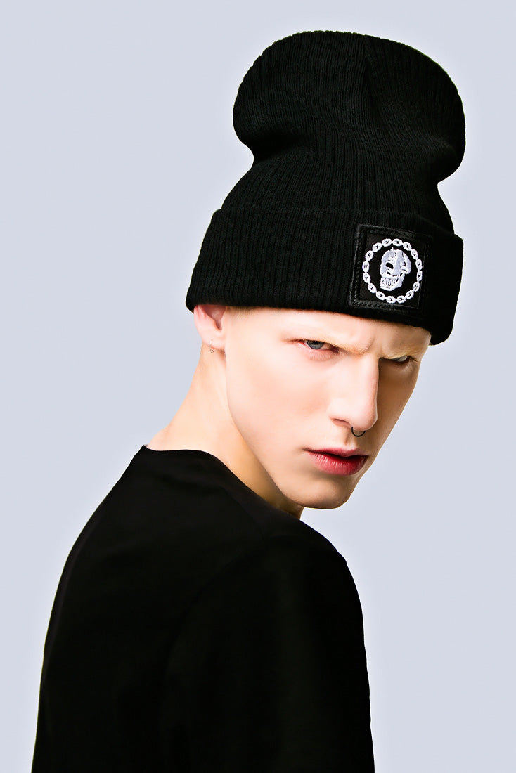 Mishka Chain Beanie - Small Patch-2027