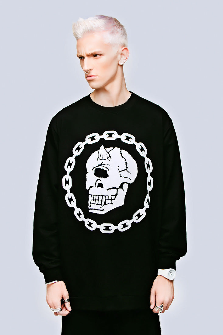 Mishka Chain Pocket Sweat-0