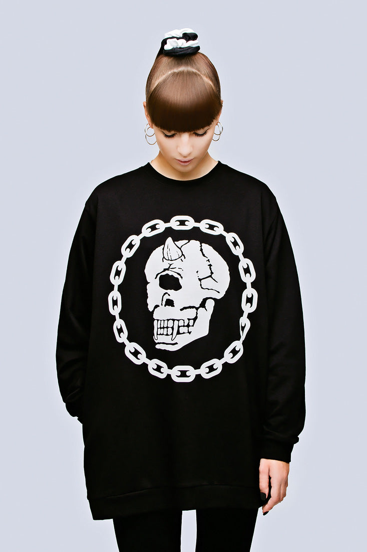 Mishka Chain Pocket Sweat-2033