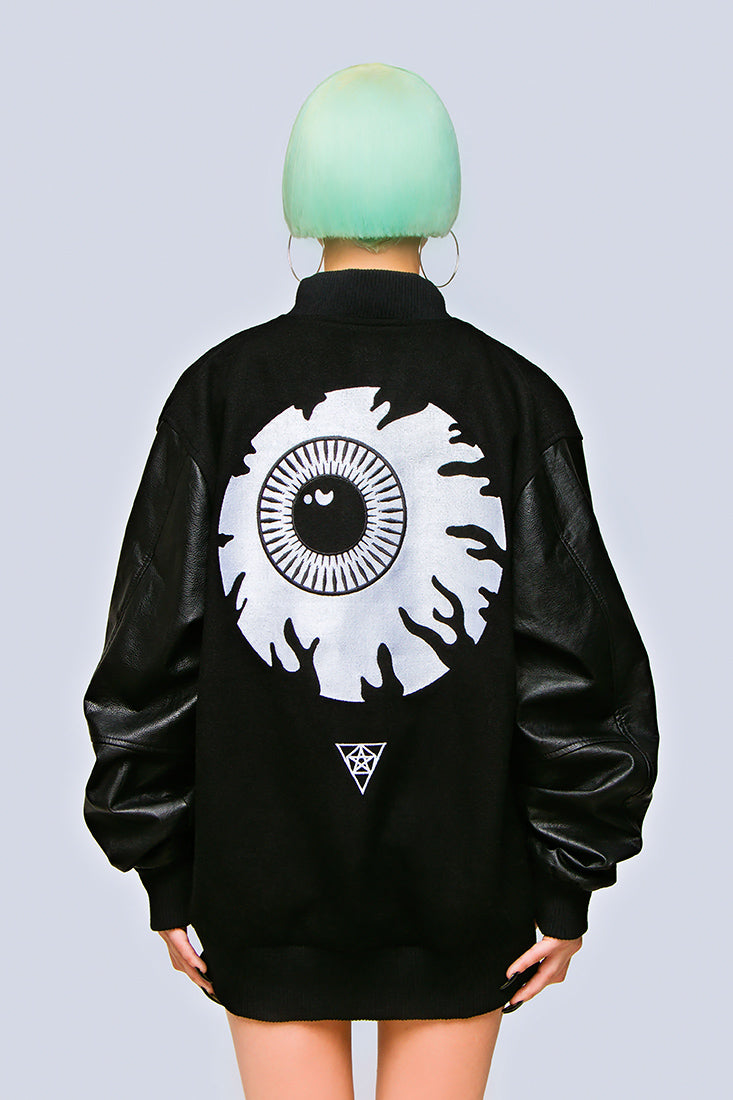 Keep Watch Varsity Jacket-0