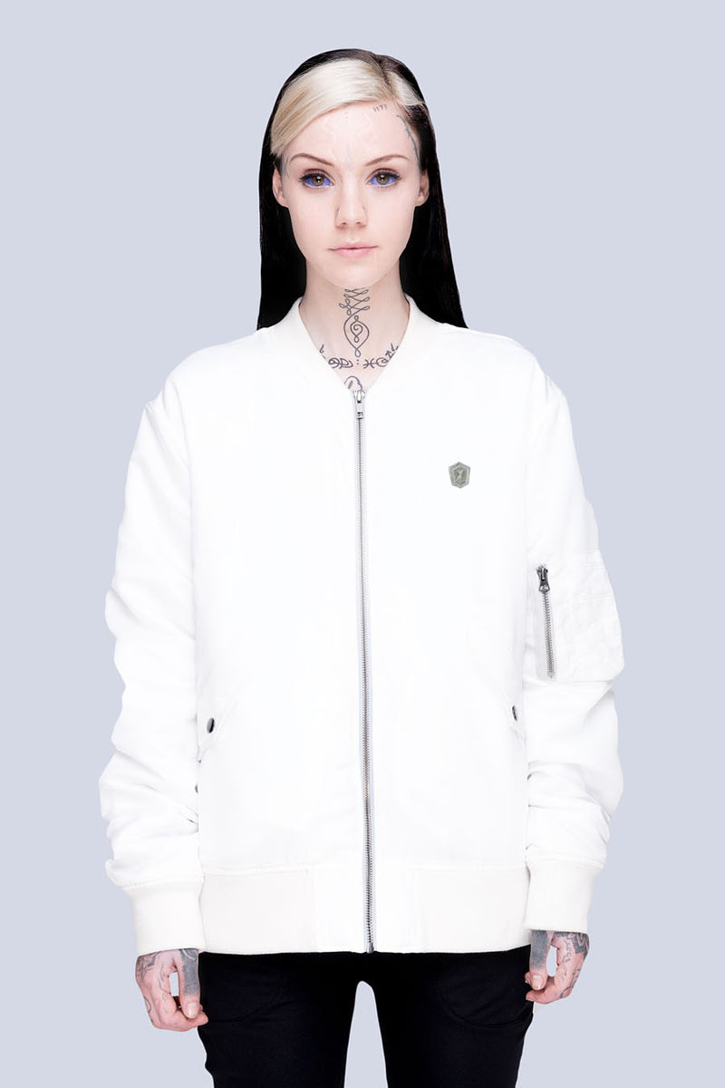 Long x Grace Neutral: MA1 Jacket (W)-3177