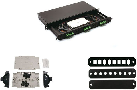 Premium Line FO Patch Panel Without Face Plate