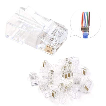 Premium Line Plug RJ45 8P8C For Stranded Cat.6 Ethernet Cable