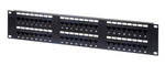 Premium Line  Cat.6 Unshielded Patch Panel 48 Ports