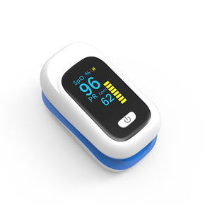 YK-80: Finger Pulse Oximeter SPO2 Saturation Monitor