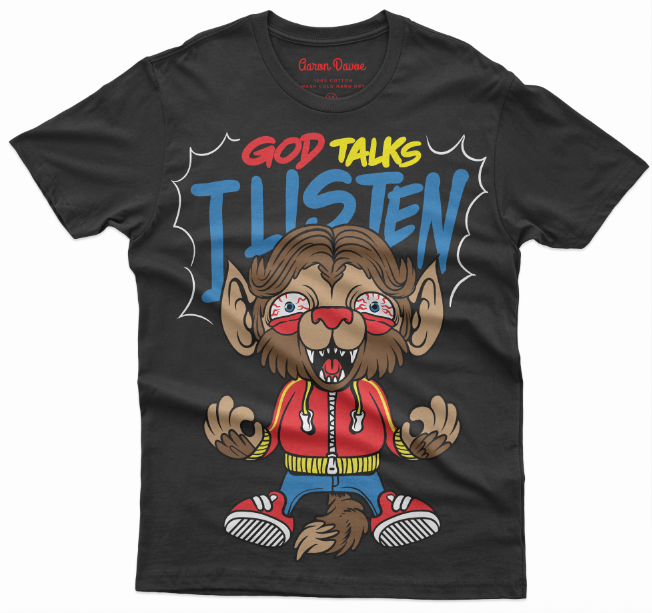 God talks I listen