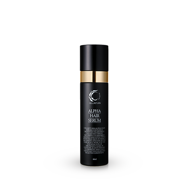 CELLRETURN ALPHA HAIR SERUM 80ml