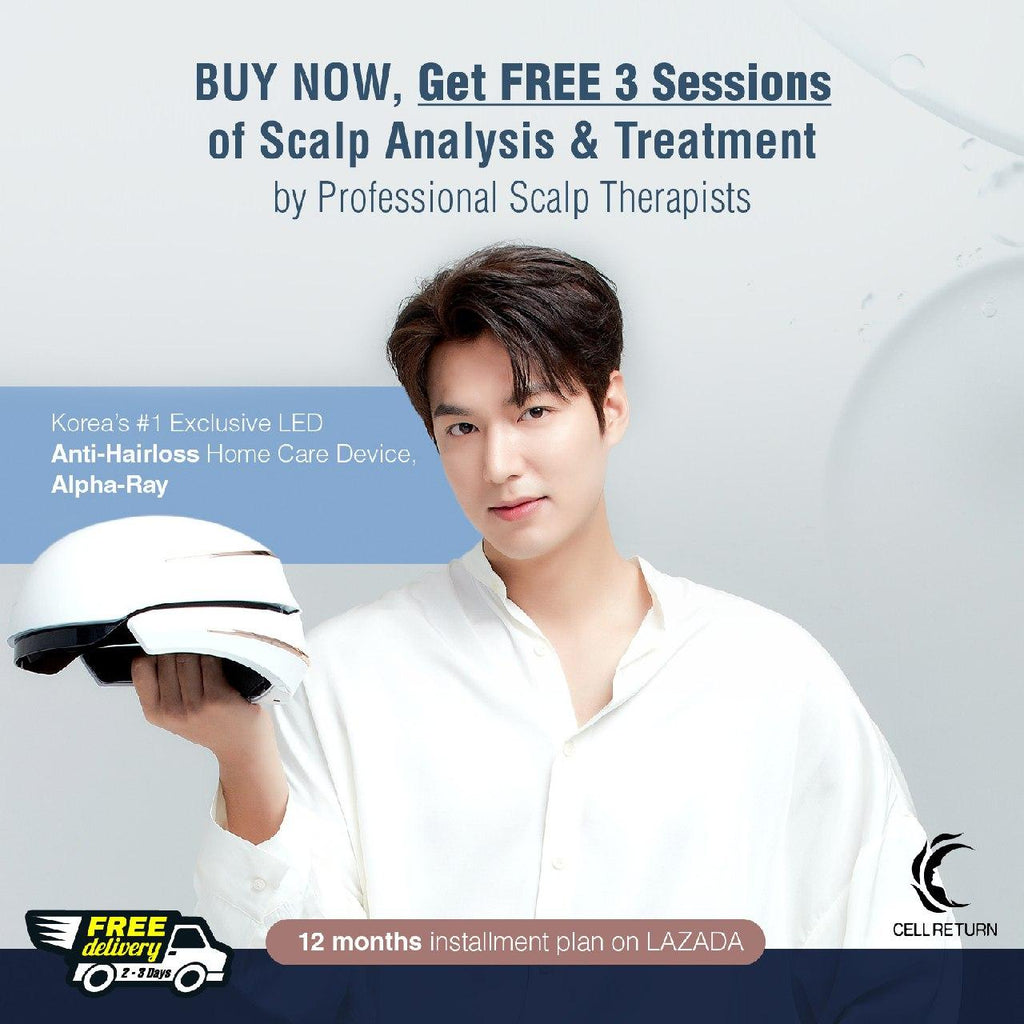FREE 3 SESSIONS of SCALP TREATMENT