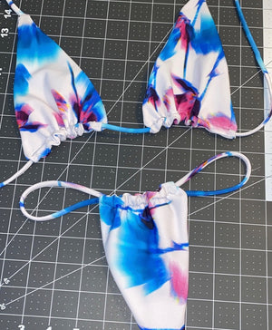 Swimwear tops made by hand in Miami, Florida