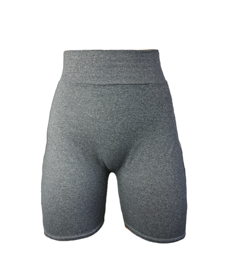 ON CHILL Grey Seamless Shorts