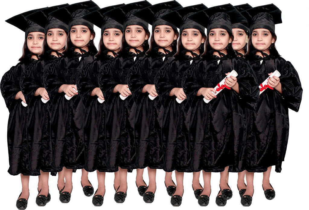 Convocation Gowns for Kids & Adults  pack of 10