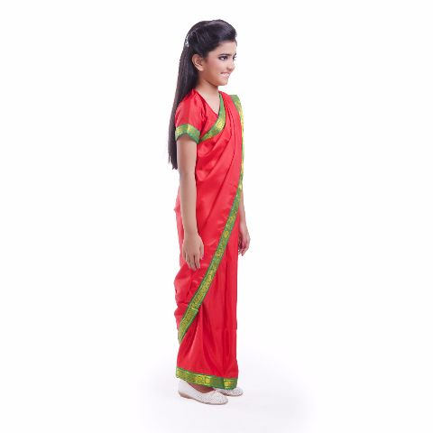 School Teacher Saree Dress For Girls