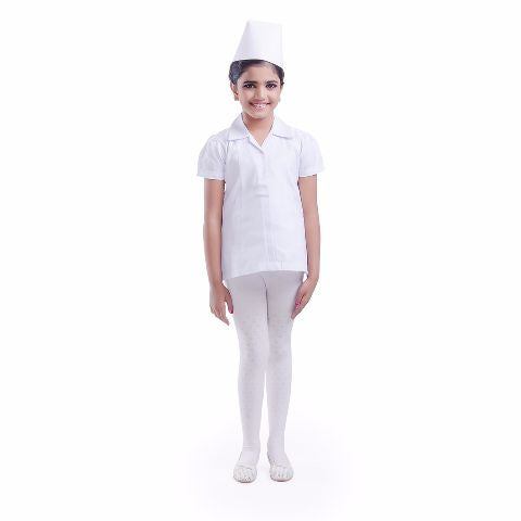Nurse Costume white for girls
