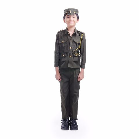 Indian soldier costume for kids role play