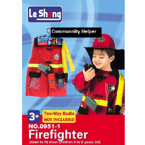 Fire Fighter Costume Dress For kids