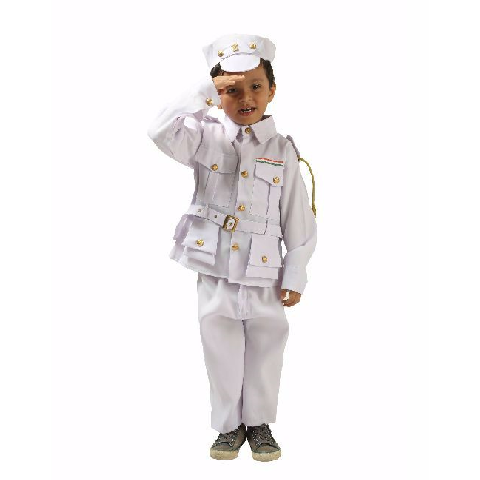 Indian Navy uniform or costume for kids