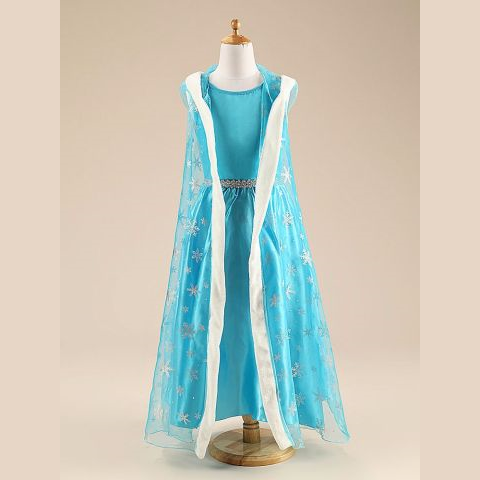 Elsa Gown with accessories