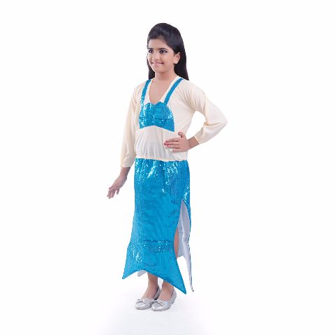 Blue Mermaid Costume for girls