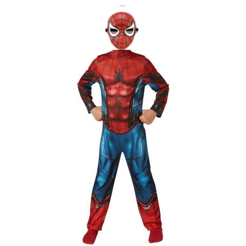 The amazing spider-man Home coming Muscle costume with Plastic mask