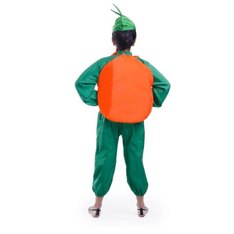 Orange Cutout and Cap without Jumpsuit