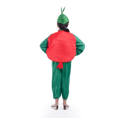 Pomegranate Cut Out and Green Cap without jumpsuit