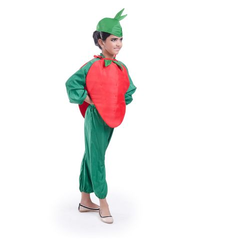 Strawberry Cutout and cap without Jumpsuit