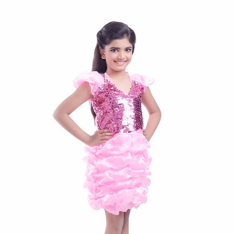 Balloon frock for dance