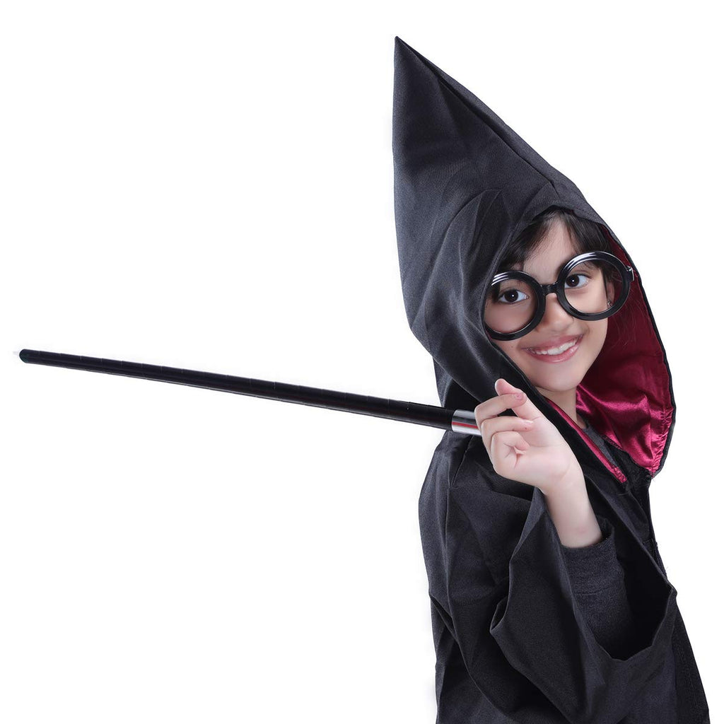 Harry Potter Gryffindor Robe with Portable Wand and Glasses