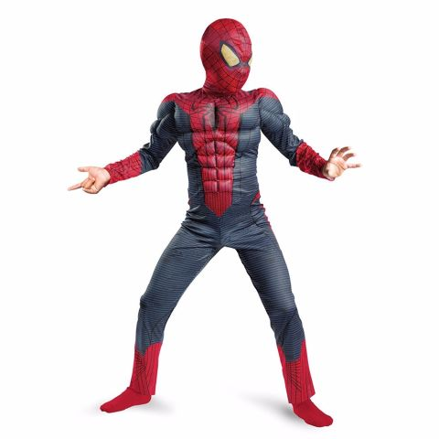 Fancydresswale Spiderman Premium Muscles Costume